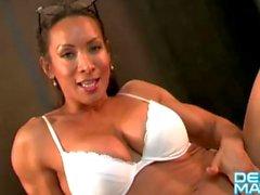Denise Masino - Hard Lecciones Video - Mujer Bodybuilder