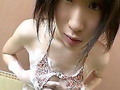Bella seducenti giapponese babe scopato