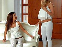 Sapphic Erotica Alexis Brill and Christen Courtney