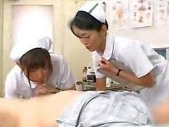 El día de observación al hospital nurse sexo japoneses