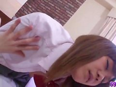 Superb scenes of classroom sex with naked Nozomi Kahara