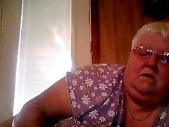 Webcam show ifrån Storväxt mormor