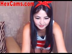 Hot Asian Webcam Girl Mini Skirt 1