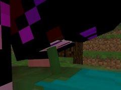 Minecraft Endie finds a Zombie [Endie X Zombie]