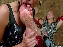 Czech Sexy Feet - Tied up and Worshipped Paris