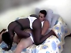 Black Girl Sucking White Cock On Her Knees