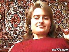 Волосатая русский подросток Olga