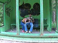 Nostra prima il sesso garden alla stazione degli autobus