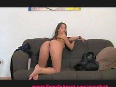 FemaleAgent. MILF loves an incredible ass