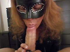 Spit, Spank it, Suck it - MILF in Leather