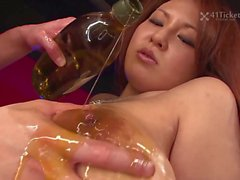 Airi Ai Tig Ol Bitties Bounce in a Bar Uncensored JAV-