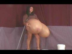 Monica's Big Fake Tits 03