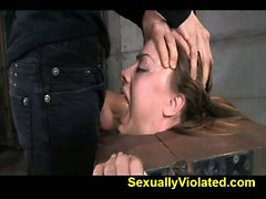 brutal deepthroat and multiple orgasms