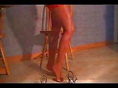 Bonny in Tan Pantyhose Part 2