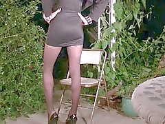 Shemale Vannessa in pantyhose