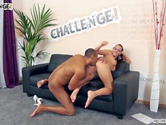 Melonechallenge - Extreme big black cock fuck Mea very hard
