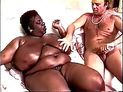 Kandee Lopez ( Karadeniz BBW ) ve Blake'in Palmer (Beyaz American)