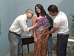 Tre tiranti lucky leccate quello piuttosto indiana sposa