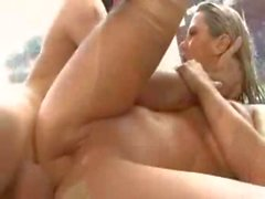 Beautiful Blonde Babe Ashlynn Brooke Hardcore fuck in Bathroom