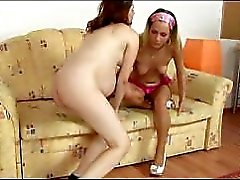 Lesbian Barefoot And Pregnant 2 - scene 3