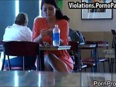 Big juicy tits sharked in public