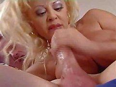 Hot Mature Blonde Cougar Donna D'Enrico