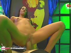 Beautiful Eveline Dellai Anal destroyed in Germany - GGG