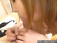 Chie Kudou Gets Her pelosa il Giappone teenager che figa Inserted con il duro le Cose