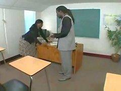 Principal Nathan Threat Dicks Down The Teacher
