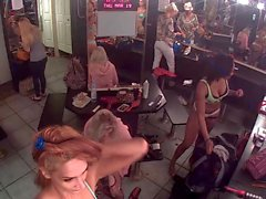 Flux en direct de club de striptease vestiaire
