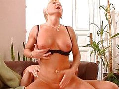 Sharon Da Val - Two Matures fucked by friends