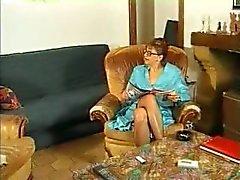 Büyükanne bir puma