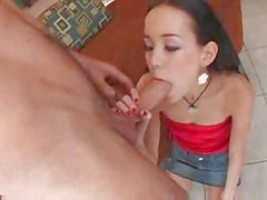 Her Tight Teen Pussy Gets Well Fucked !