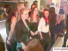 Amateur Europa Hotties Party im Vereins