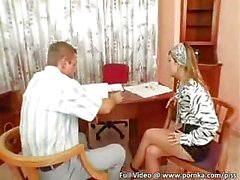 Pizza Boy Delivers Loads of Piss Onto Two Silk and Satin Wearing Eurobabes