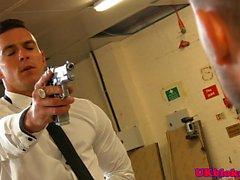Paddy O Brian kidnaps Troy Daniels before facial
