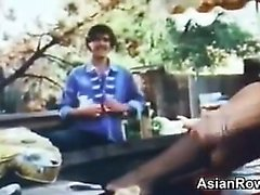 Asian Lovers Fucking Outside Classic