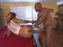 Nasty Ebony Hooker Loves To Swallow