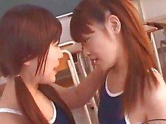 Schoolgirl Getting Her Nipples Sucked Pussy
