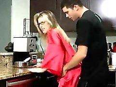 annemin , kitchen , gerçekten , Annen , anal