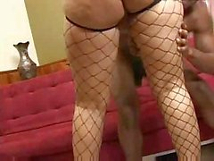 Cashmere Mist and her big booty gets fucked by a black cock