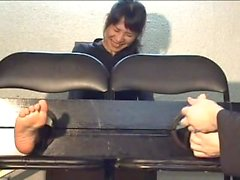 Japanese feet tickle12