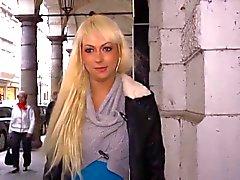 немецкая блондин запускается пробурено