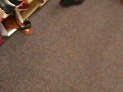 Gilf blanc avec des orteils rouges