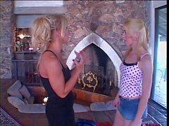 Smoking hot lesbian action
