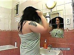 Tuvaletli in Hot Fat Girl Kaçanı Siken