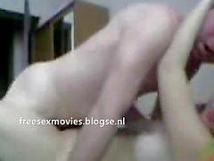 Turkish couple fuck on webcam