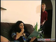 Horny Mature Lady And This Son In Law