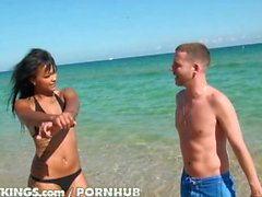 Reality Kings - Harley Sweet at the beach