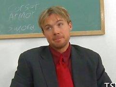 D'écolière Hot blonde baisé par son professeur coqueluche